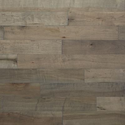 """Rustic Grey Kentwood Maple in """"Cannon Beach"""" - Buyers are loving floors with a grey hue lately."""
