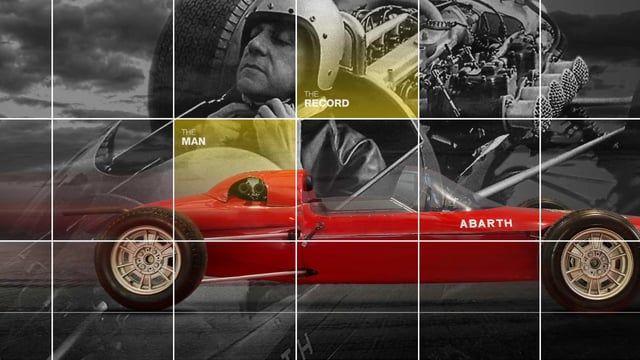 Visualizzazione dell'esperienza di navigazione del progetto Instagram realizzato in occasione dell'uscita della Abarth Biposto Record. Agenzia: RAZORFISH