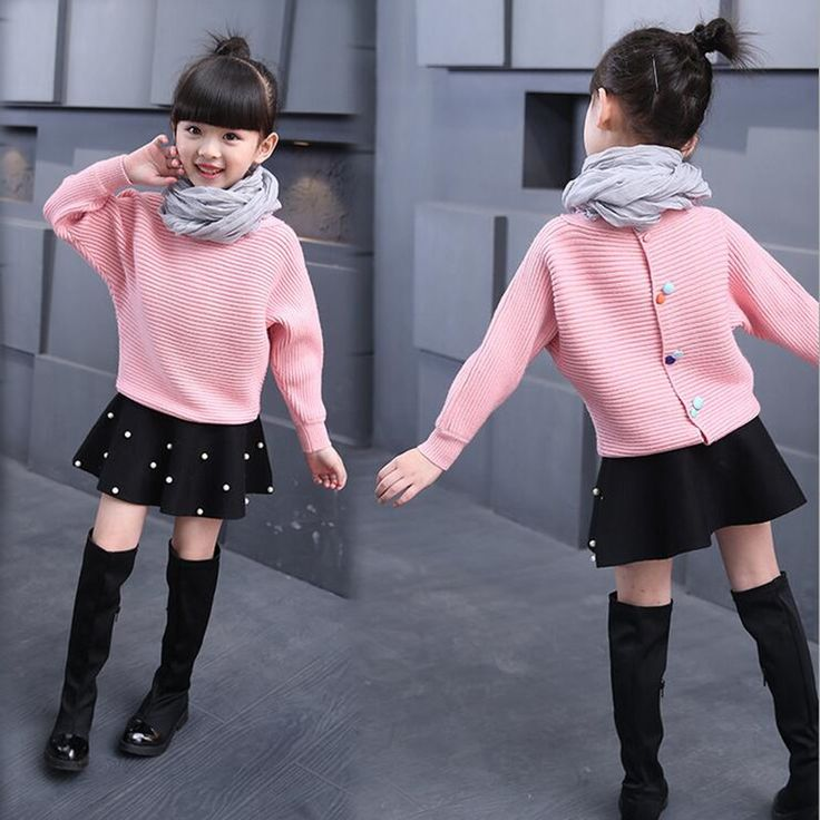 ==> [Free Shipping] Buy Best New lovely children sweaters warm clothes girl sweater Korea bat wing fighter sleeve knit sweater in spring and autumn Online with LOWEST Price   32746775779