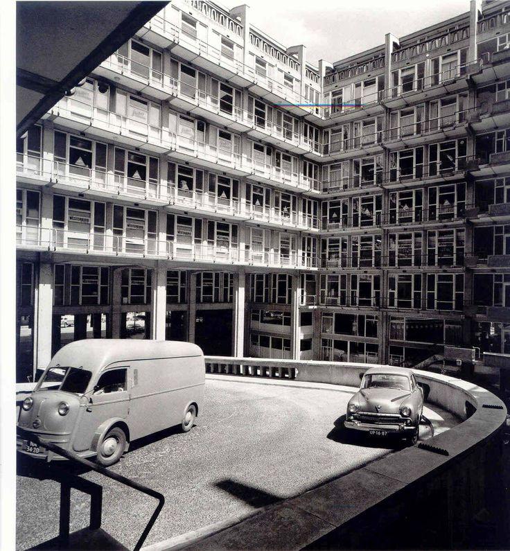 Groothandelsgebouw, jaren 50, Rotterdam - bewri