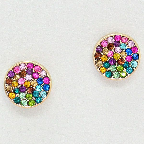 Sparkling Multicolor Earrings