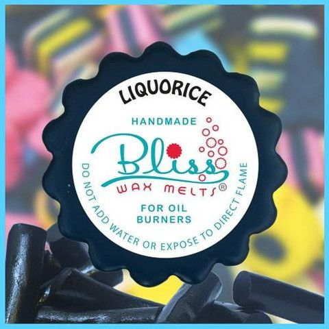 The intriguing wax melt scent of liquorice takes you by surprise - conjuring thoughts of Choo Choo bars, liquorice allsorts and black chewy lollies. This scent has similar traits to the sweet - initially bitter, then sweet - very out of the ordinary