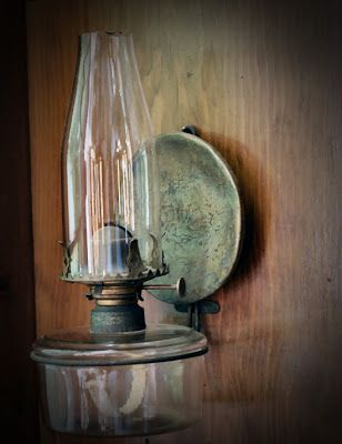 My Primitive Heart-Decorating Ideas & more: Antique Lighting- A collection of mine