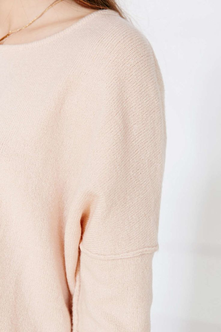 Anama Textured Fitted Top - Urban Outfitters