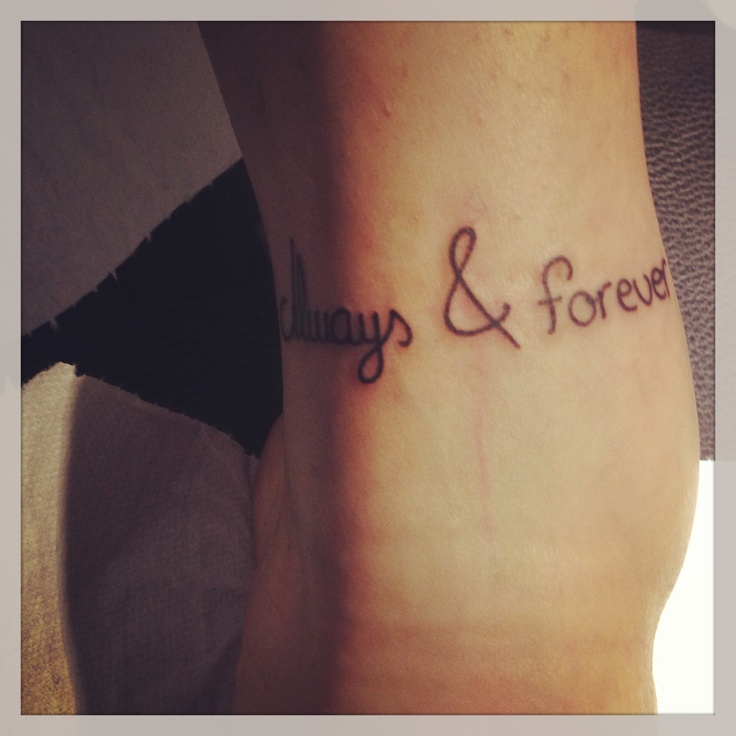 brother sisters love ankle tattoo always forever tattoo ideas pinterest. Black Bedroom Furniture Sets. Home Design Ideas