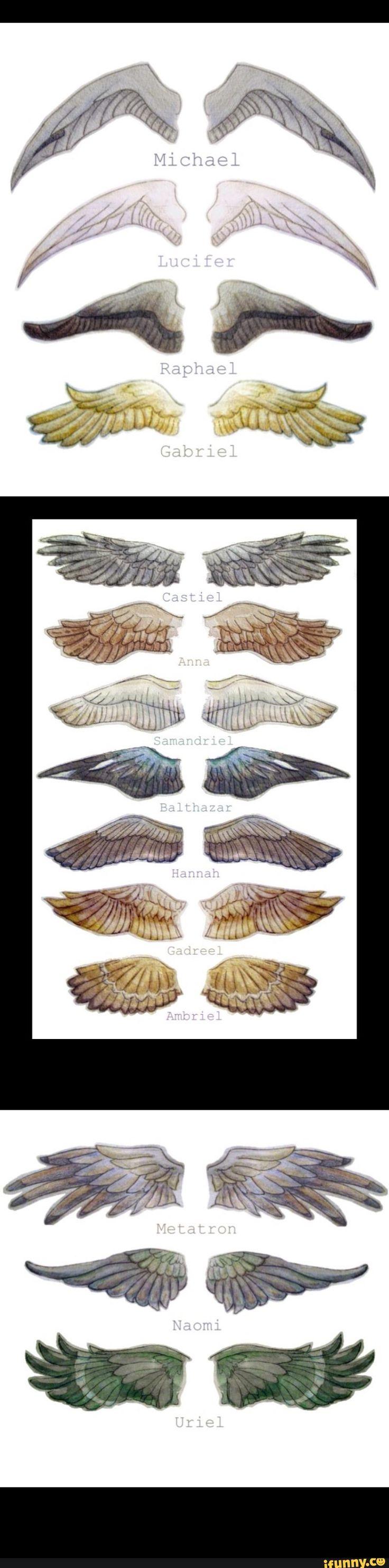 Supernatural angel wings