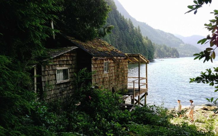 Abandoned cabins in the BC Backcountry
