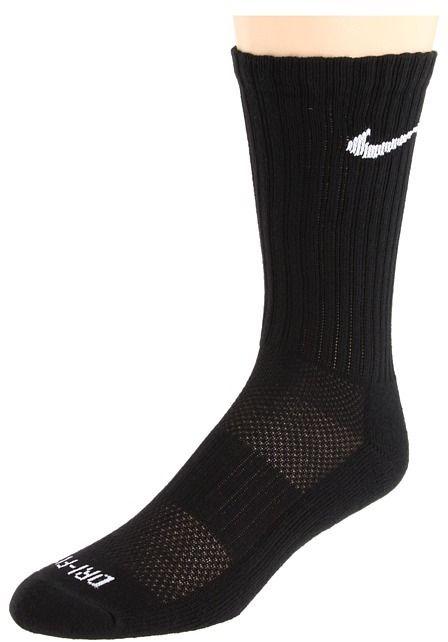 Nike Dri-Fit Crew 6-Pair Pack ) Crew Cut Socks Shoes