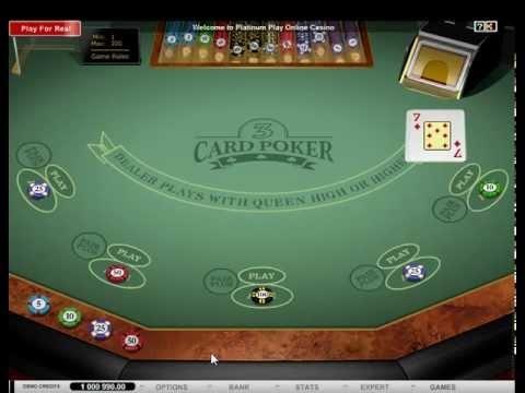 Multihand 3 Card Poker Gold