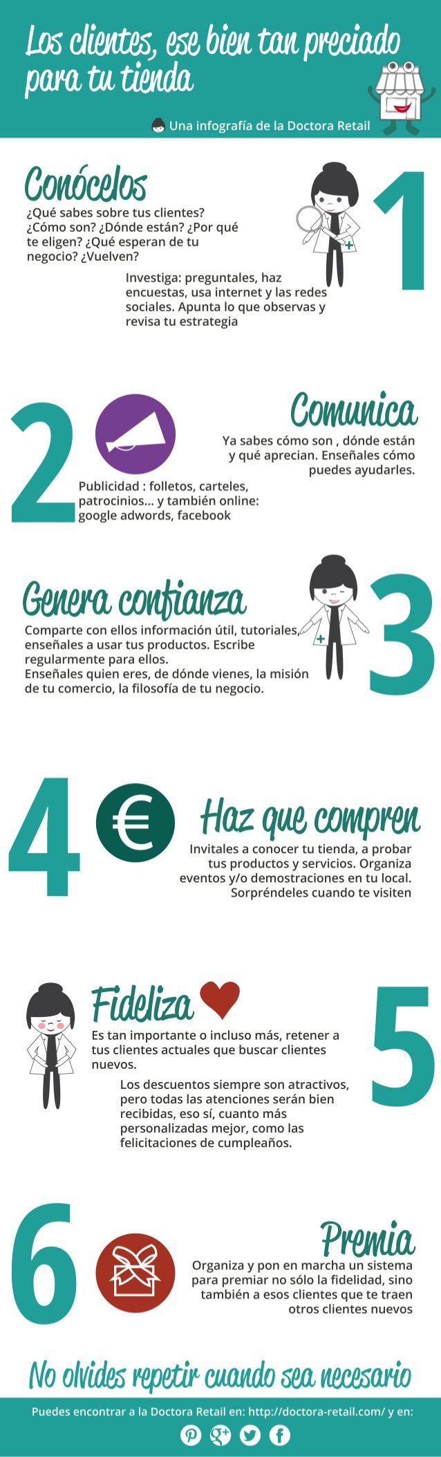 La importación del cliente en tu comercio #infografia #infographic #marketing