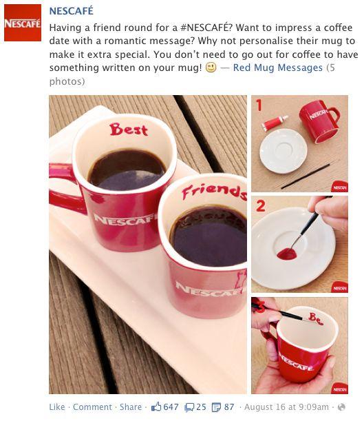Nescafe knows how to impress!
