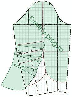 конструирование рукава пальто