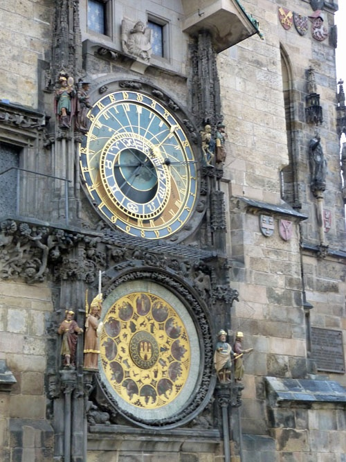 Prauge: The Astronomical Clock - This clock is mentioned briefly in Scorched Treachery but will play an even bigger part in Soul of Flame