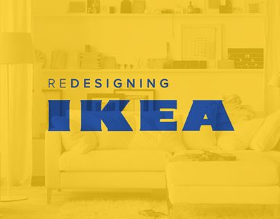 "다음 @Behance 프로젝트 확인: ""Redesigning the Website of IKEA""…"