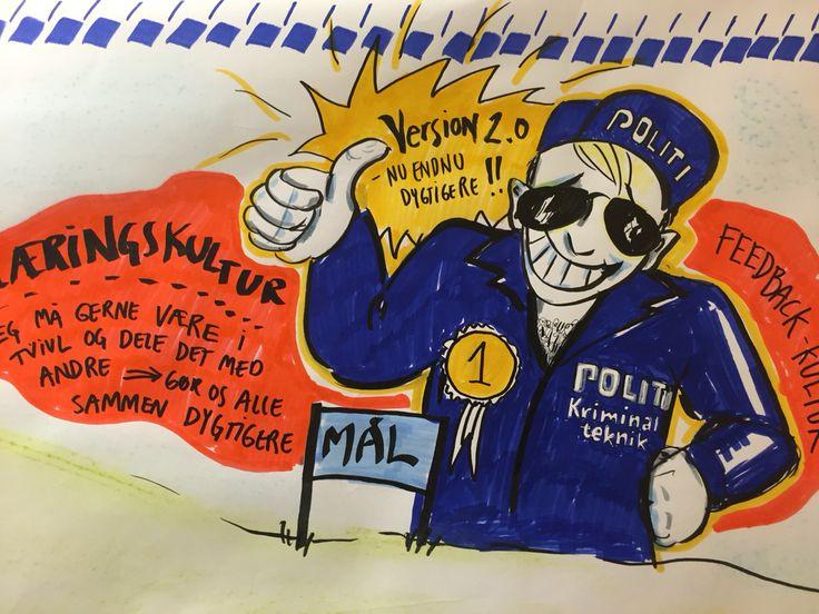 Grafisk facilitering for Politiet 2016