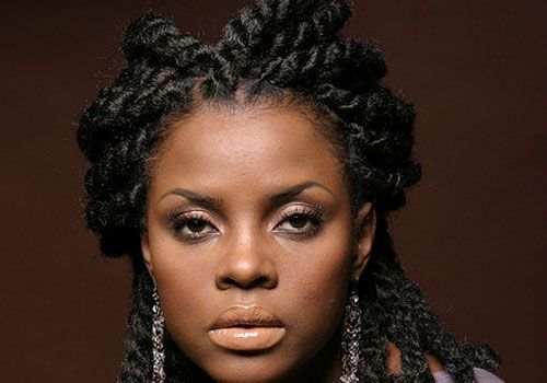Protective Curly Hairstyle