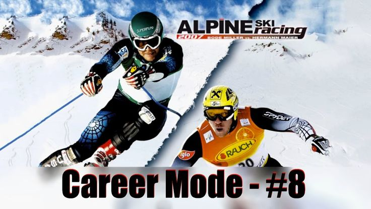 Alpine Ski Racing 2007: Bode Miller vs. Hermann Maier - Сareer Mode - #8