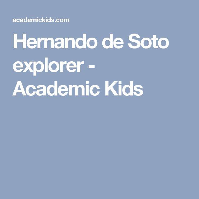 Hernando de Soto explorer - Academic Kids