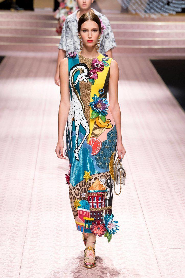 a34080003891 Коллекция Dolce & Gabbana весна-лето 2019 in 2019   Мода   Мода ...
