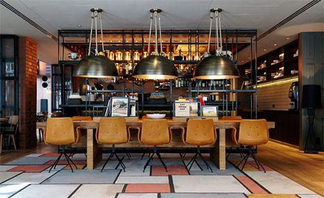 Puro Hotel | Bent Hansen Primum Chairs at Puro Hotel in Gdansk #spisestuestole #diningchairs