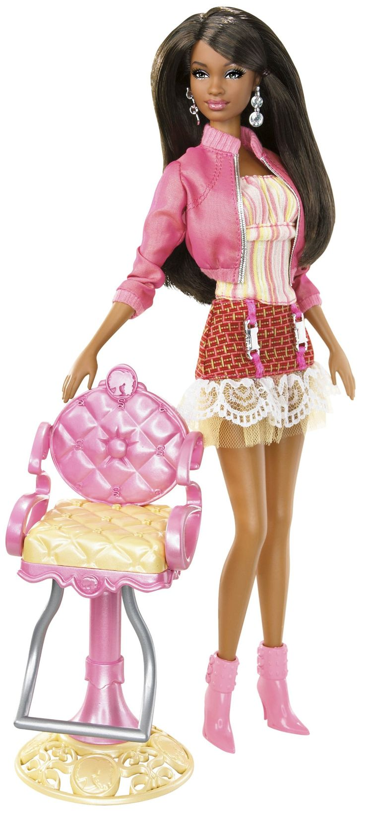 Barbie So In Style Stylin Hair Grace Doll Toys Games Barbie Maravillosa