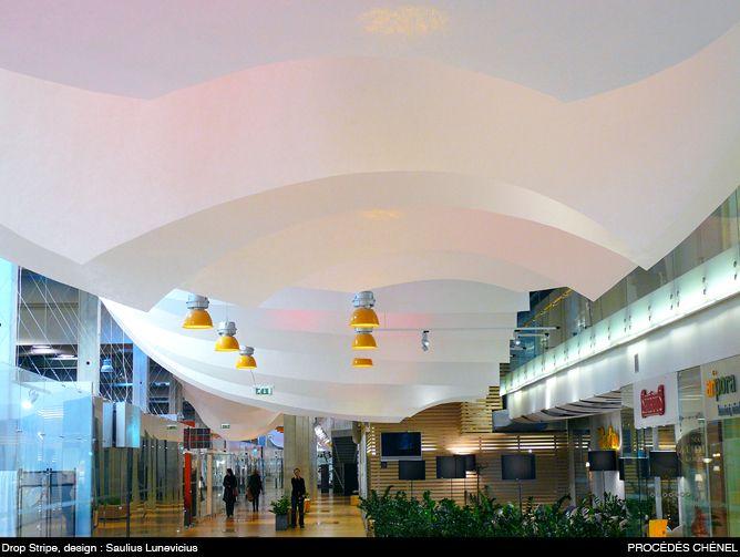 procedes chenel Paper Ceiling | drop stripe c.