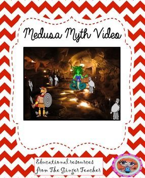 Medusa Myth VideoThis is a short animated video to show the Medusa myth. The videos are in MOV and WMV format but if you require them in a different format please let me know.This video is part of a 4 week complete unit of work on myths and legends available  here .*****************************************************************************My other English products: Persuasive Writing Complete Unit .