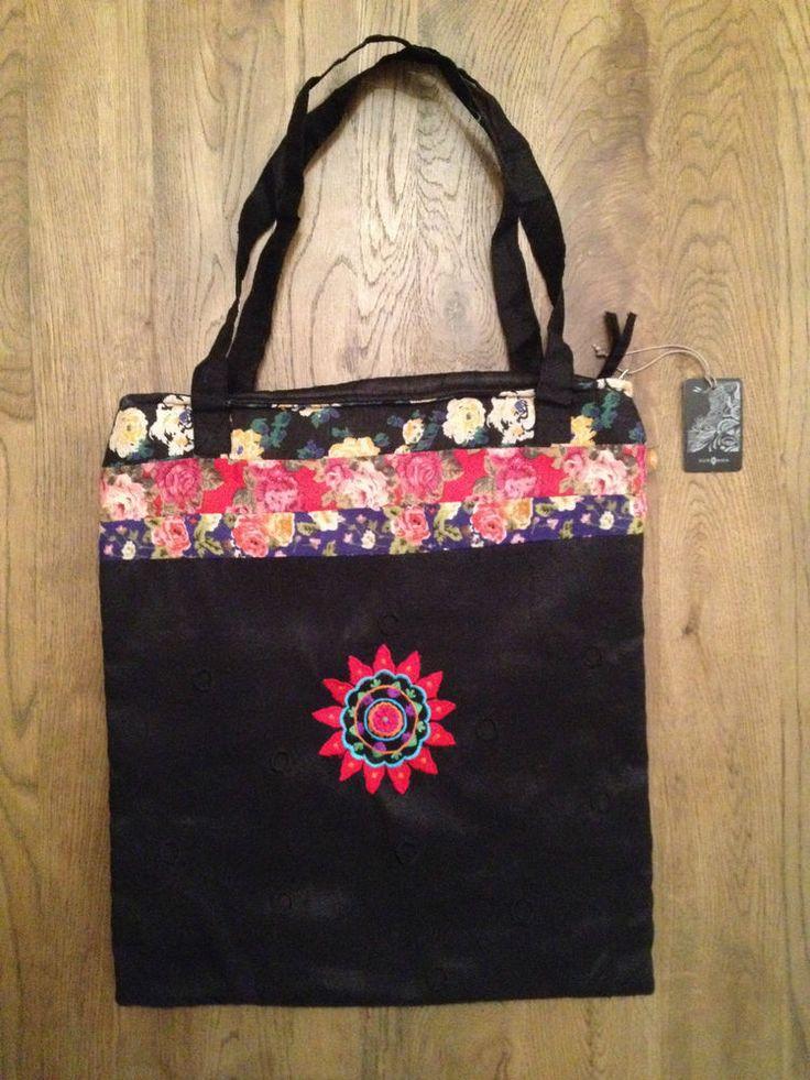 Bolso negro SURKANA Bag - Nuevo - 40cm x 35cm