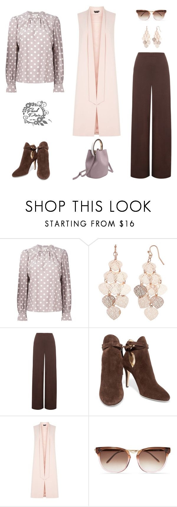 """Nice Combo"" by fixedpixie ❤ liked on Polyvore featuring Marc Jacobs, LC Lauren Conrad, WearAll, Jimmy Choo, Alice + Olivia, Thierry Lasry, Spring, PolkaDots, trends and 2018"