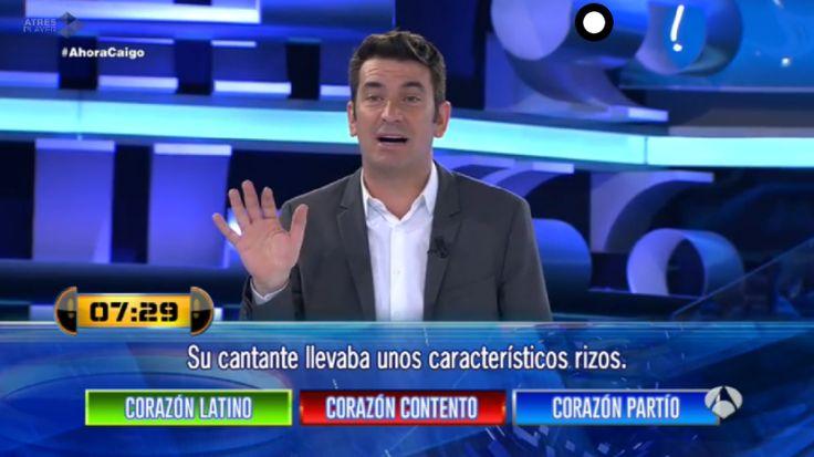 Arturo Valls, genial y divertido presentador de Ahora caigo.