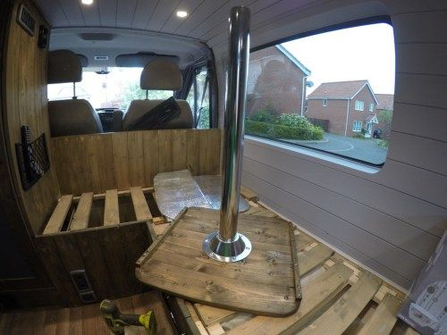 Van Conversion Table It Is Detachable And Can Be Stored Away When Not Use Its Great For Eating Dinner Resting Laptop On