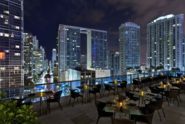 Rising to the top is never a bad thing, and in this case, think rooftops. Naturally, the best way to enjoy captivating skyline views is with a cocktail.If you need a reason to grab a drink, here's a list of Miami's five best rooftop happy hours. 1. Whisper Cocktail Lounge.The...