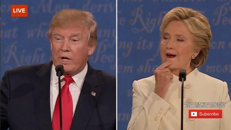 FULL  Donald Trump vs Hillary Clinton - Final Presidential Debate 2016  ...