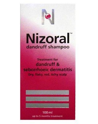 Nizoral Dandruff Shampoo - 100 ml 10032960 36 Advantage card points. Treats and prevents dandruff and seborrhoeic dermatitis - dry, flaky, red, itchy scalp. Dermatogologically tested