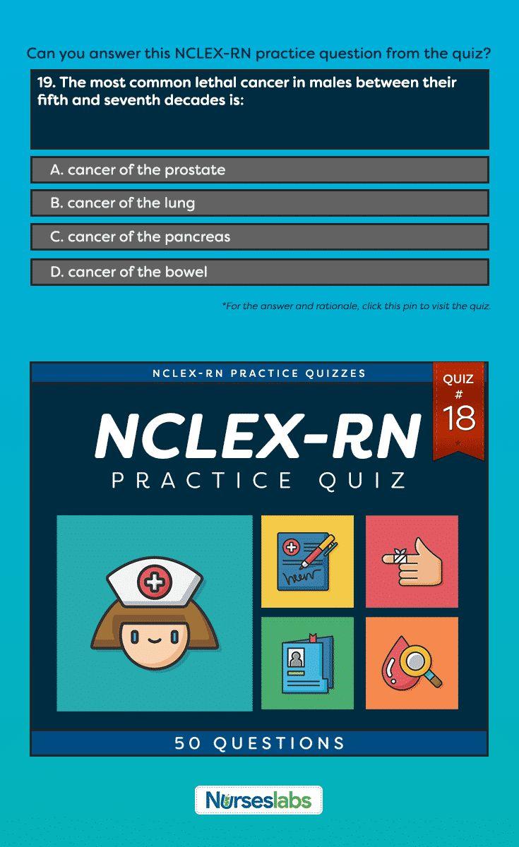 Best 25 nclex rn practice questions ideas on pinterest rn nclex rn practice exam 18 50 questions nurseslabs xflitez Gallery