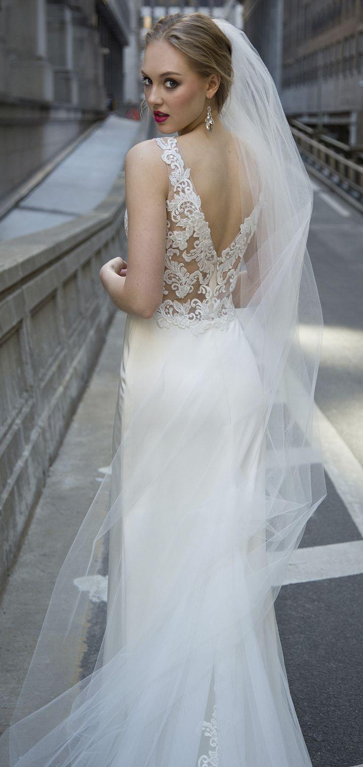 V-Back Wedding Dress | LELAINI by Kelly Faetanini