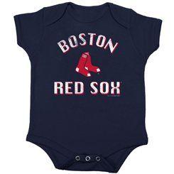 Boston Red Sox Infant Creeper - Navy Blue