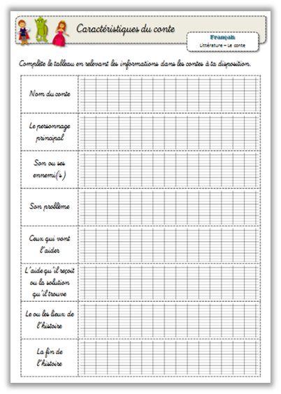 Production écrite - Ecrire un conte - Journal de bord d'une instit' débutante                                                                                                                                                                                 Plus