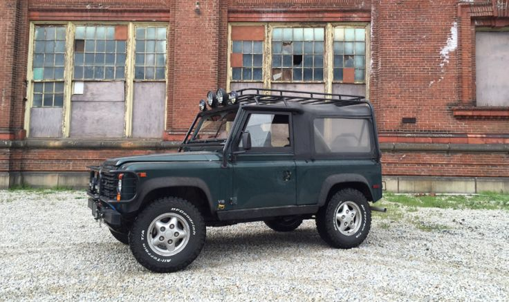 The Land Rover Defender. A loud, uncomfortable British SUV built twenty years ago and cancelled in America because they couldn't afford to fit it with airbags. It's unreliable, it has few amenities, it's slow… and a nice one is worth $70,000. And a really nice one is worth $100,000. How the hell is this possible?
