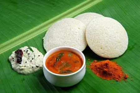best breakfast in India - Idli sambhar