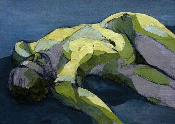 Figure as a Landscape 2 -Debra  Sweeney: Landscape