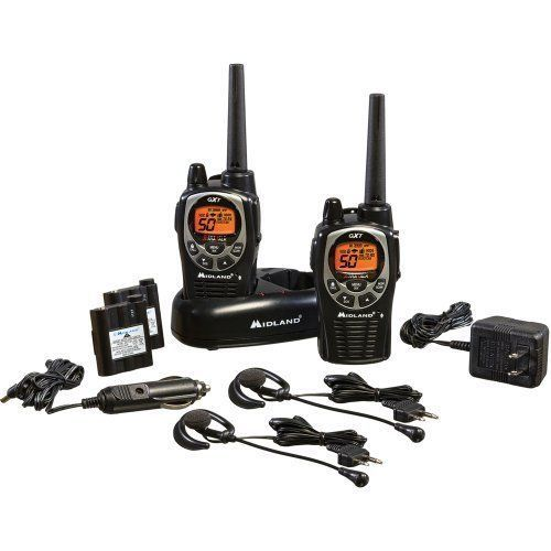 Two Way Radios Walkie Talkie Pair 36 Mile 50 Channel Communication Compatible #Unbranded