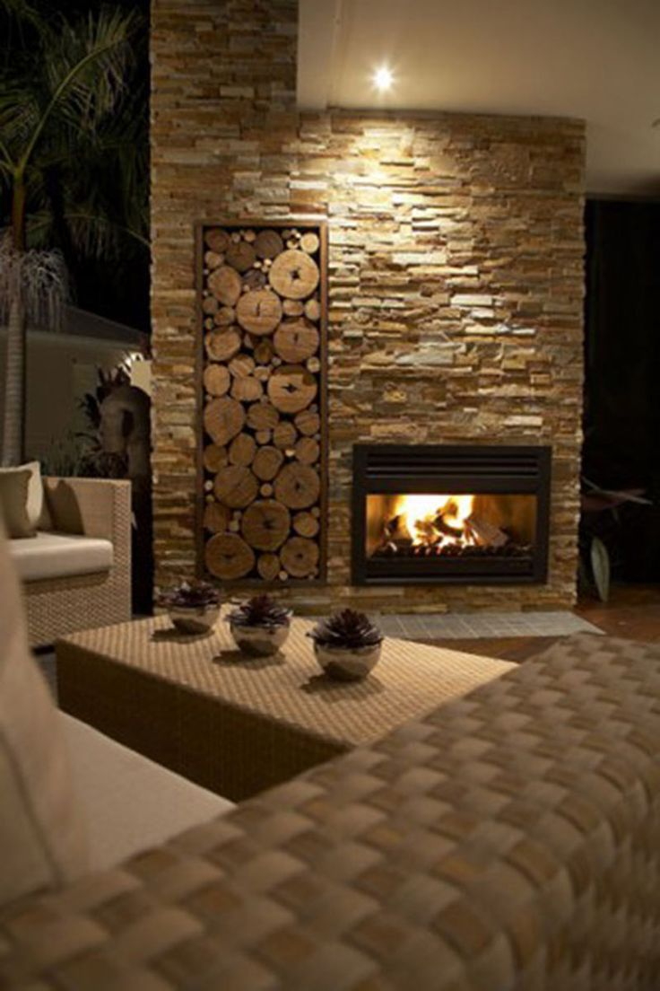 Outdoor room-fireplace