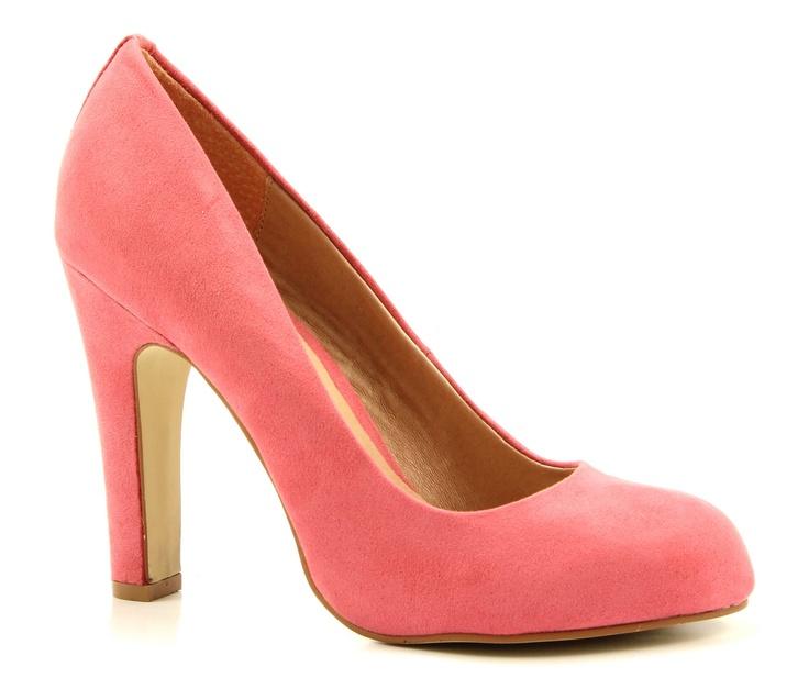 La Strada 427166 roze hoge hakken pumps