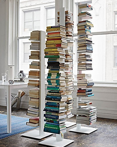 Sapien Bookcases | Design Within Reach.  I think these are so smart and have several.