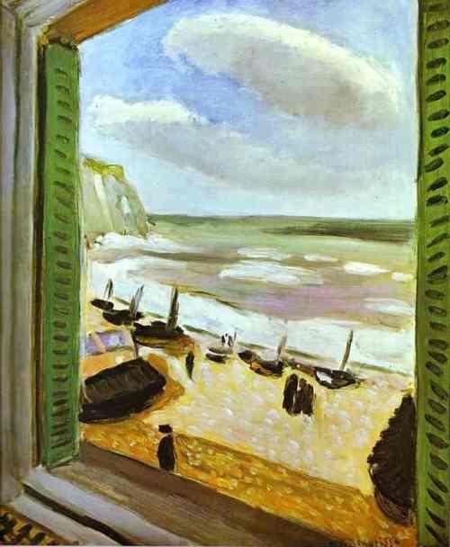 Henri Matisse,Open Window, 1921