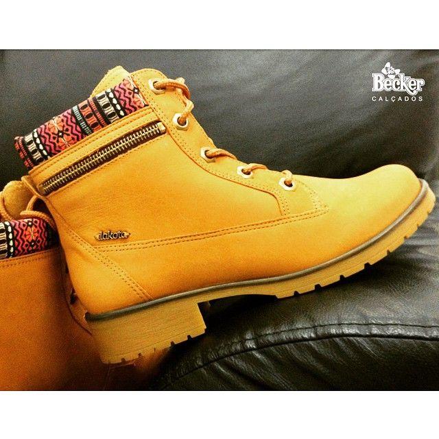 Como resistir as novidades do inverno 2015? ❤️ (ref: B7191) #yellowboot #dakotanarede #boots