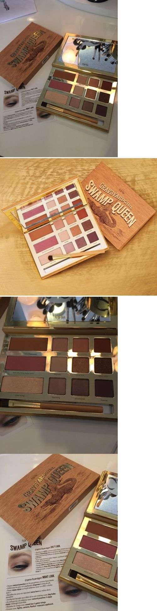 Bronzers and Highlighters: Tarte Graveyard Girl Swamp Queen *Eye And Cheek Palette With Brush In Box Read Des -> BUY IT NOW ONLY: $36 on eBay!