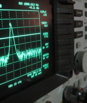 RF Spectrum analyzer.  www.wave-scientific.com