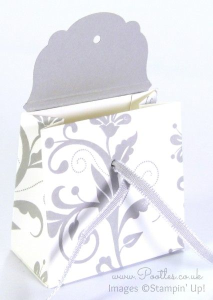 Wedding Favour Box Tutorial Using Stampin' Up! Supplies Open